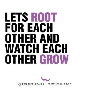 Image result for let's root for each other and watch each other grow